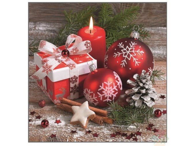 vánoční ubrousky 13000