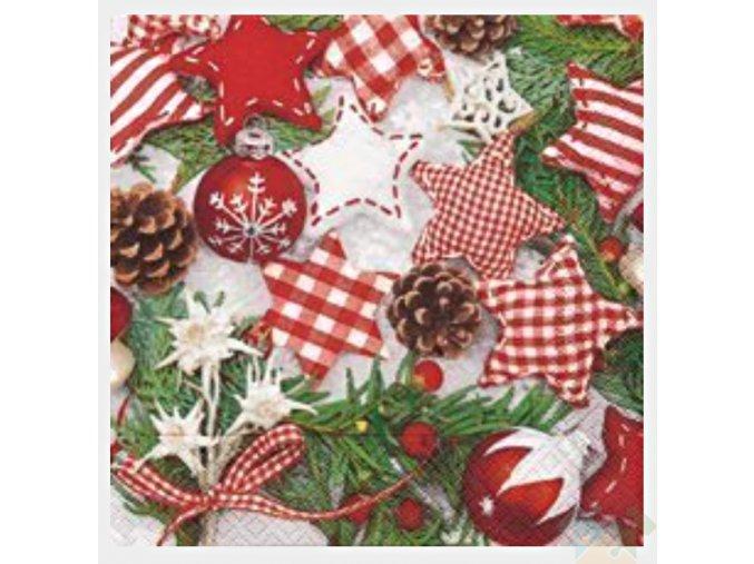 vánoční ubrousky 60686