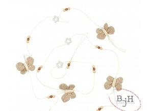 Řetěz s motýlky