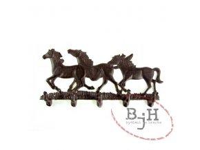 Věšák - koně