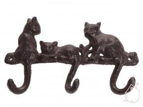 věšák kočky