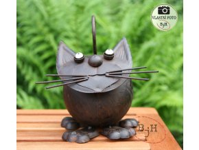 zahradní dekorace kočka