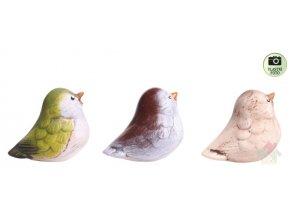 zahradní dekorace ptacek