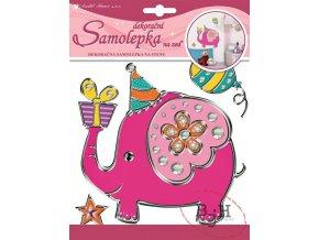 Samolepící dekorace slon