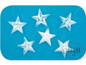 Vánoční dekorace hvězdy