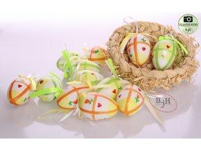 velikonoční vajíčka na zavěšení