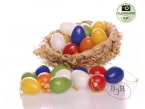 velikonoční plastová vajíčka