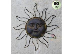 kovové slunce