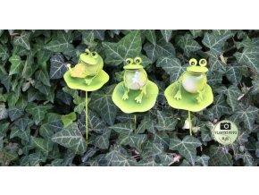 zahradní dekorace žáby