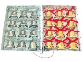 Vánoční zvoneček - balení 12 kusů