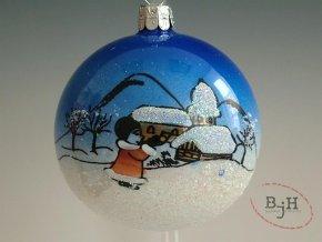 Vánoční ozdoby skleněné