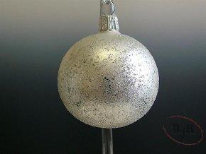Vánoční skleněné baňky - 6 kusů