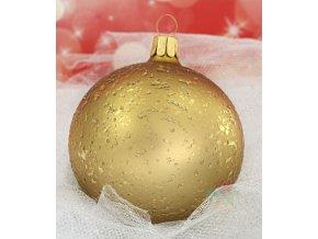 zlaté vánoční ozdoby 1124K416