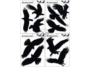 Samolepící silueta ptáků