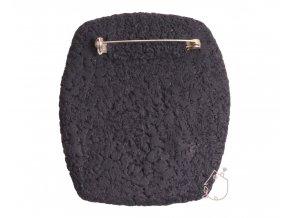 Brož s tulipány