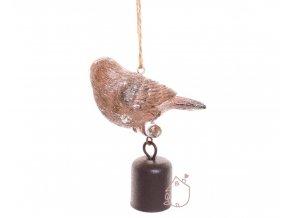 Zvoneček s ptáčkem