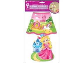 Lampička s princeznou