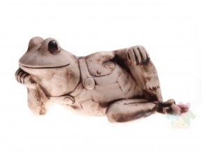 Žaba z keramiky