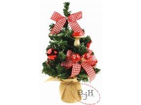 Vánoční stromeček nazdobený