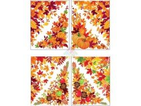 podzimní výzdoba oken 963