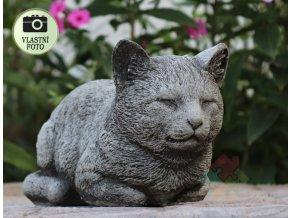 Kočka betonová
