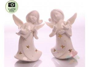Andílci svítící