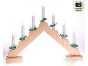 svícen pyramida