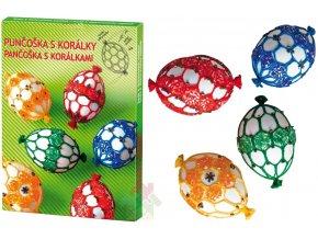 Sada na zdobení velikonočních vajíček korálky