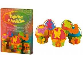zdobení velikonočních vajíček s dětmi