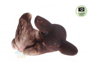 keramický ležící králík