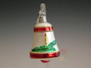 skleněné vánoční ozdoby 127T019