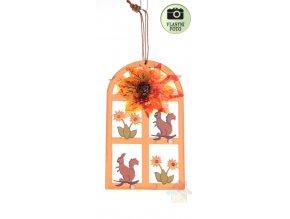 podzimni dekorace čarodějky