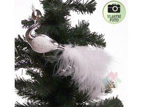 vánoční ozdoby pták