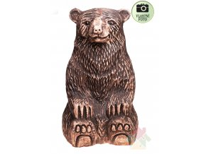 keramický medvěd
