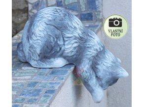 keramická kočka