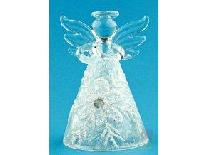 skleněný anděl 3544
