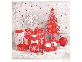 vánoční ubrousky 13013