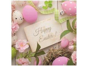 velikonoční ubrousky Happy Easter!