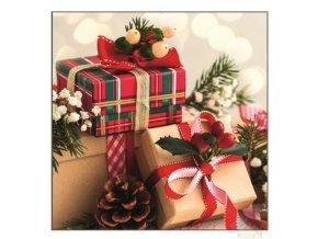 vánoční ubrousky 13003