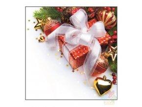 vánoční ubrousky 13009
