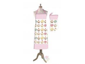 kuchyňská zástěra Cupcake