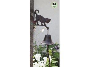zvoneček s kočkou