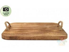 dřevěný podnos