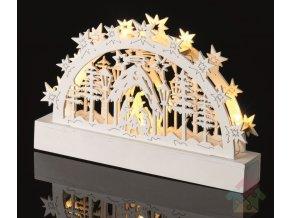 betlem s osvětlením
