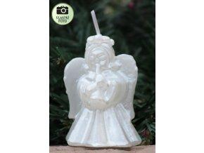 anděl svíce