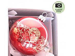skleněné vánoční ozdoby 1127T019
