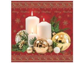 vánoční ubrousky 13022