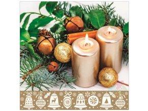 vánoční ubrousky 13023