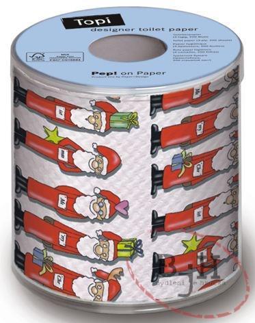 Paper+Design Vánoční toaletní papír