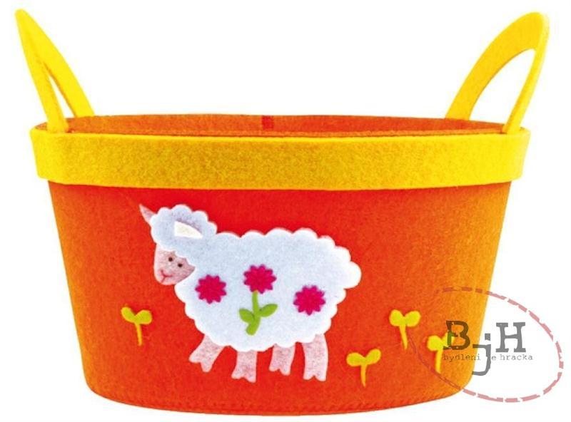 Velikonoční dekorace s ovečkou
